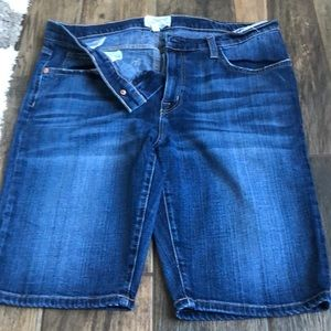 Current Elliott Bermuda jean shorts